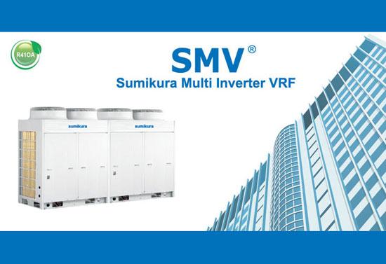 Giới thiệu lạnh trung tâm Sumikura Multi VRF với thiết kế mới