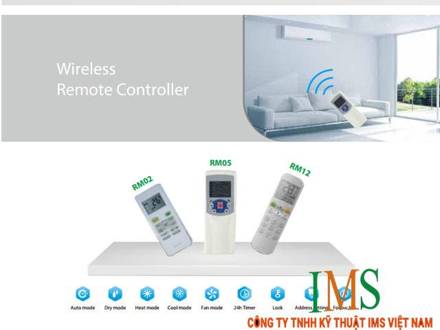 Hệ thống điều khiển của điều hòa VRF Media