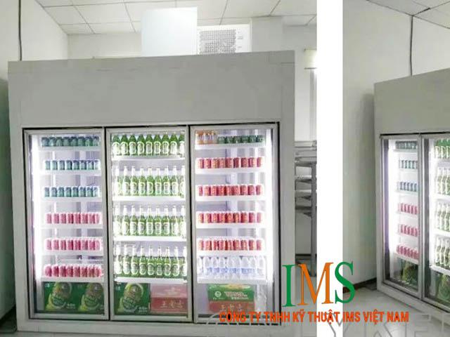 Yêu cầu kỹ thuật lắp đặt kho lạnh bảo quản sữa